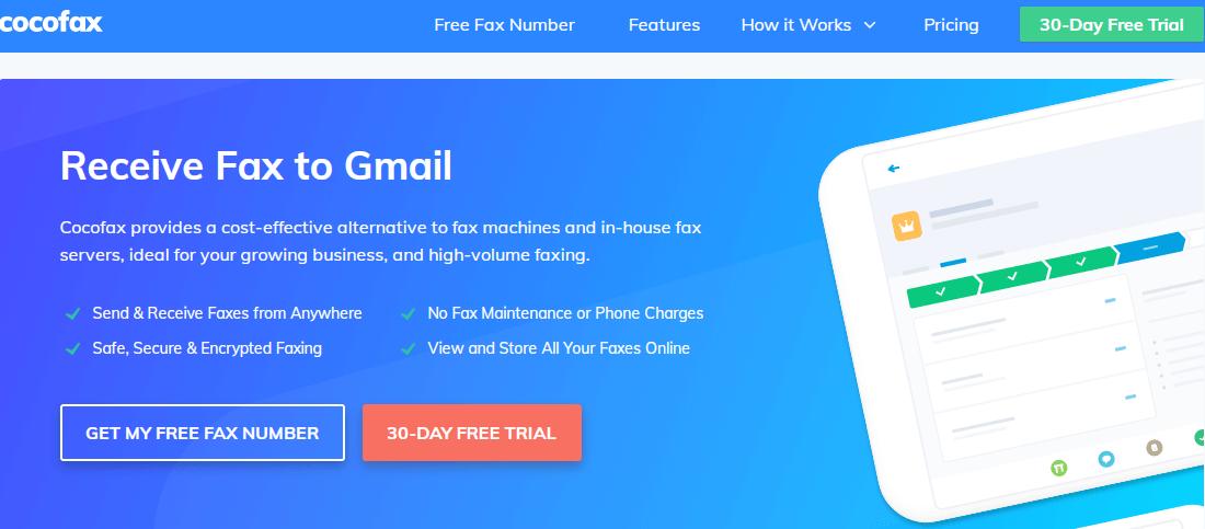receive fax